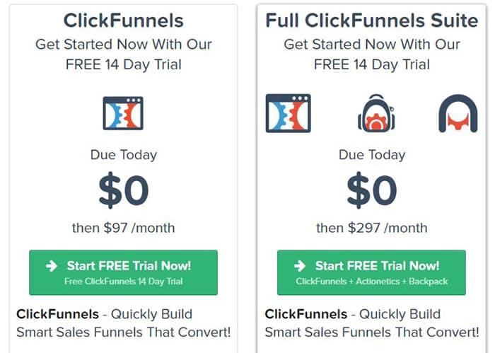 """Résultat de recherche d'images pour """"click funnel gratuit"""""""