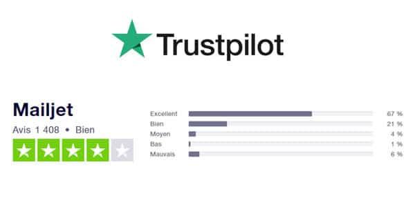 Trustpilot Mailjet