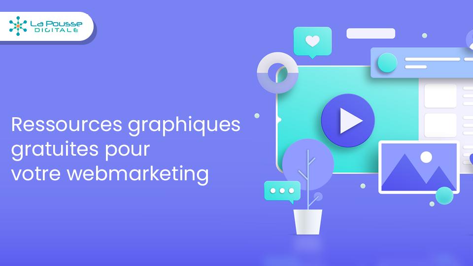 +150 ressources graphiques 100% gratuite pour votre webmarketing