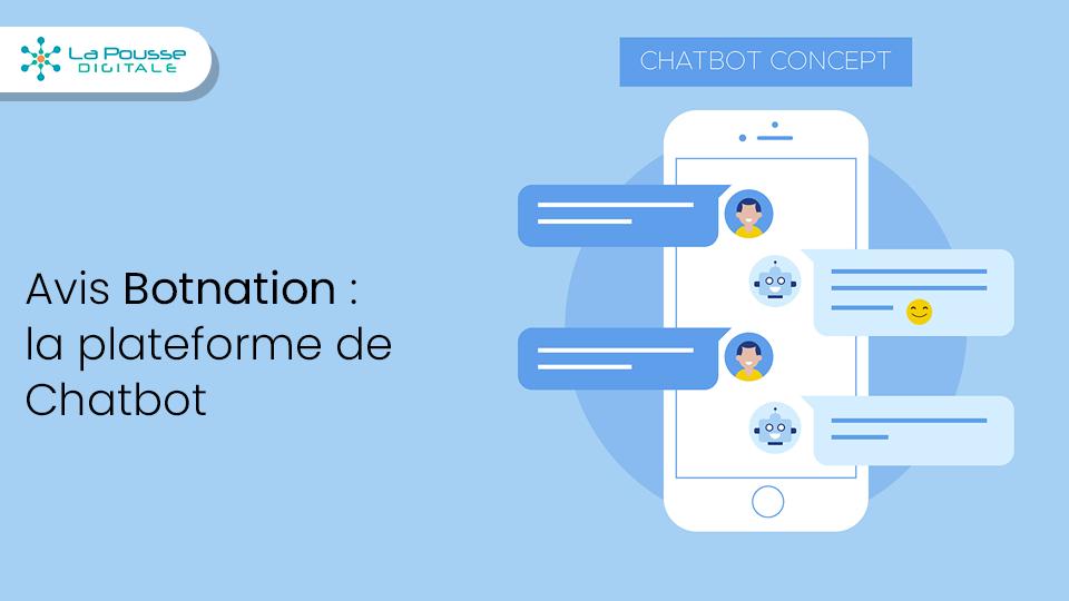 Avis Botnation : la plateforme de création de Chatbot
