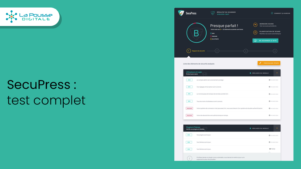 SecuPress est-il le meilleur plugin WordPress de sécurité ? Notre test complet